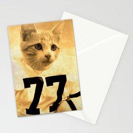 Baseball Kitten #1 Stationery Cards