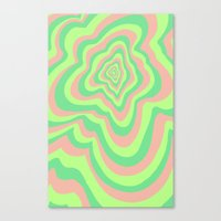 watermelon Canvas Prints featuring Watermelon by Popsicle Illusion