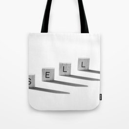 Time to Sell Tote Bag