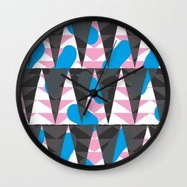 Confetti safari V2 Wall Clock