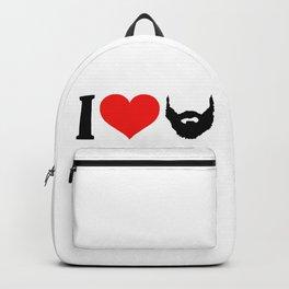 I Love Beard Backpack