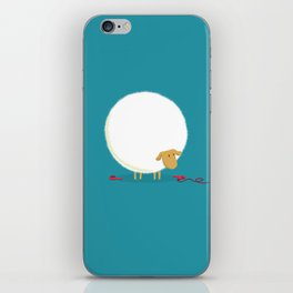 Fluffy Sheep iPhone Skin