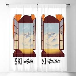Ski Austria Blackout Curtain