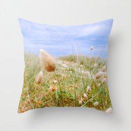 Sea grasses Throw Pillow