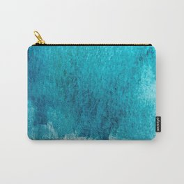 Rest: a minimal, blue abstract piece Carry-All Pouch