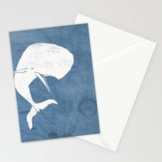 Moby Dick Poster Design Stationery Cards