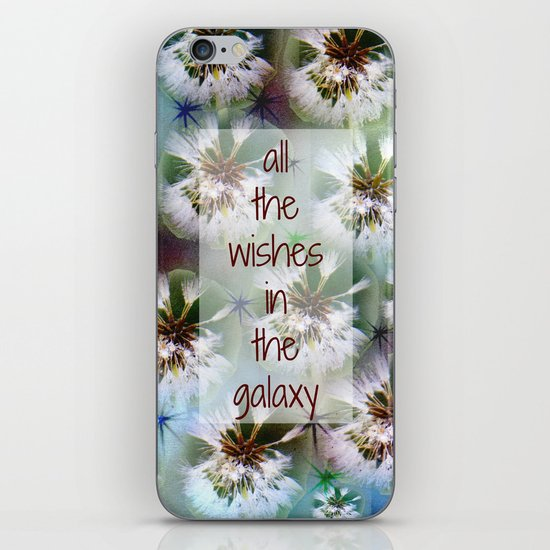 COLLAGE LOVE: All the Wishes in the Galaxy iPhone Skin
