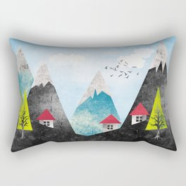 Landscape Rectangular Pillow