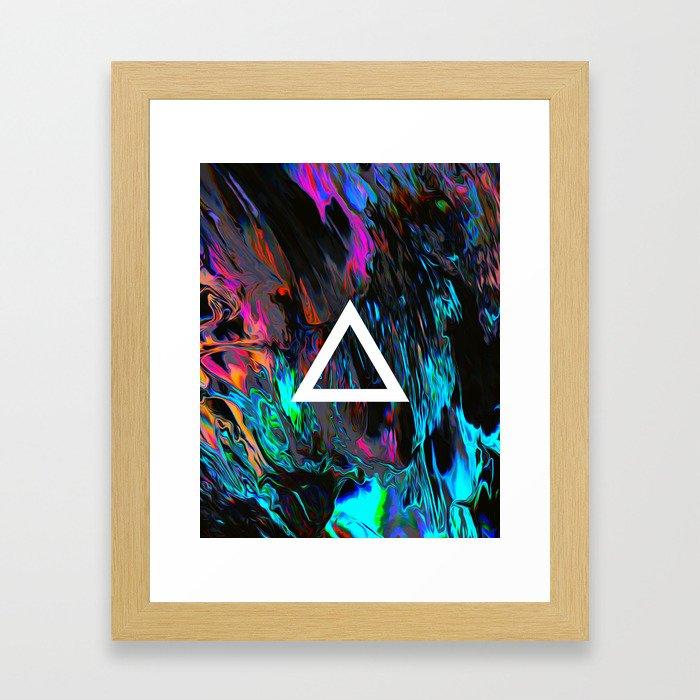 Saz Framed Art Print