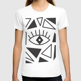 Evil Eye Triangles T-shirt