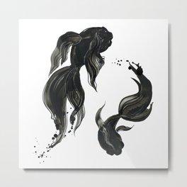Koi fishes Metal Print