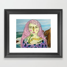 Love Deep Like The Sea Framed Art Print