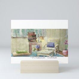 Weekend: Sorted - Watercolor Painting Mini Art Print
