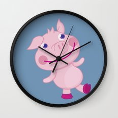Pigg'o Wall Clock