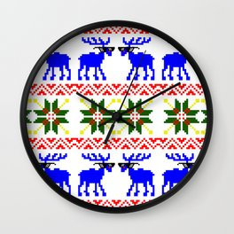 Ugly Sweater ( Deal With It ) Wall Clock
