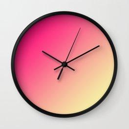Japanese Gradient Art Wall Clock