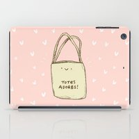 totes iPad Cases featuring Totes Adorbs! by Sophie Corrigan