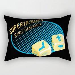 Super-Heroes-Name-Generator Rectangular Pillow