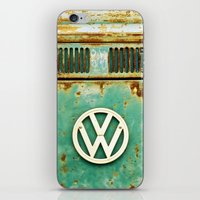 vw iPhone & iPod Skins featuring VW Retro by Alice Gosling