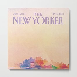 The New Yorker - 06/1983 Metal Print
