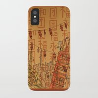 china iPhone & iPod Cases featuring China  by Nogah