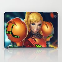 samus iPad Cases featuring Samus by PooZ