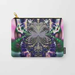 Fractal Owl Carry-All Pouch