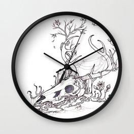 Bygones and Beginnings Wall Clock