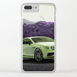 Green Continental GT Speed Clear iPhone Case