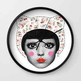 super bybie Wall Clock
