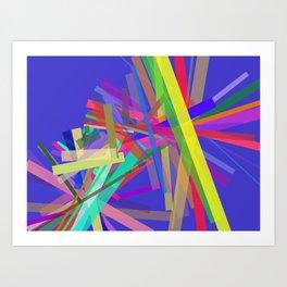 Oblique N°2 Art Print