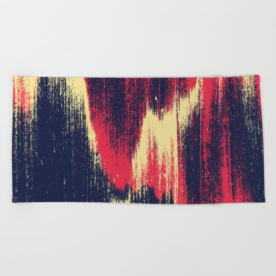 NOISE / part one Beach Towel
