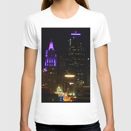 KC Night Skyline T-shirt