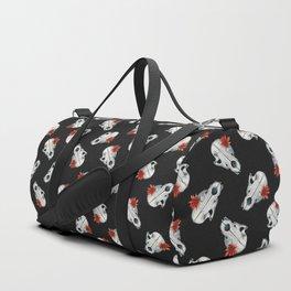 Vanitas - Skull Pattern Duffle Bag