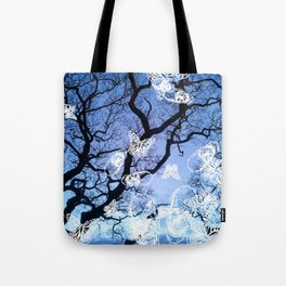 Llansteffan woodland Tote Bag