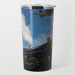 Hurricane and Steam Train Travel Mug