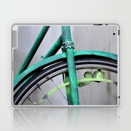 Green bike Laptop & iPad Skin