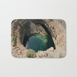 Bimmah Sink hole (Hawaiyat Najm) in Dibba Al Bay Ah, Oman Bath Mat
