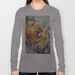 Crackled Long Sleeve T-shirt