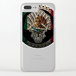 Mexico Design Mexican Flag Design For Mexican Pride Clear iPhone Case