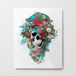 SUMMER SKULL V Metal Print