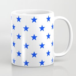 Stary stars - blue stars pattern Coffee Mug