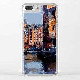 Speicherstadt VI Clear iPhone Case