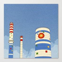 Thermo Elektrik Canvas Print