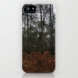Dark Woods iPhone Case