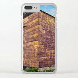 Grain Elevator 1 Clear iPhone Case