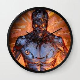 The Fury Wall Clock