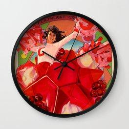 FLASHLIGHT CR Wall Clock