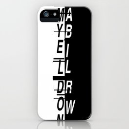 Grimes II iPhone Case