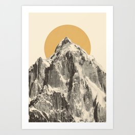 Mountainscape 5 Art Print